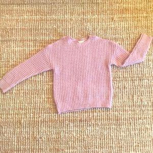 Forever 21 Girls 11-12 Mauve Cold Shoulder sweater